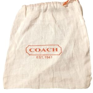 Coach Medium Jewelry Pouch/Dustbag NWOT